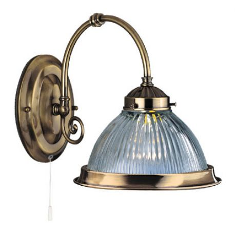 Shop by style traditional lighting traditional wall lights american diner single wall light aloadofball Choice Image